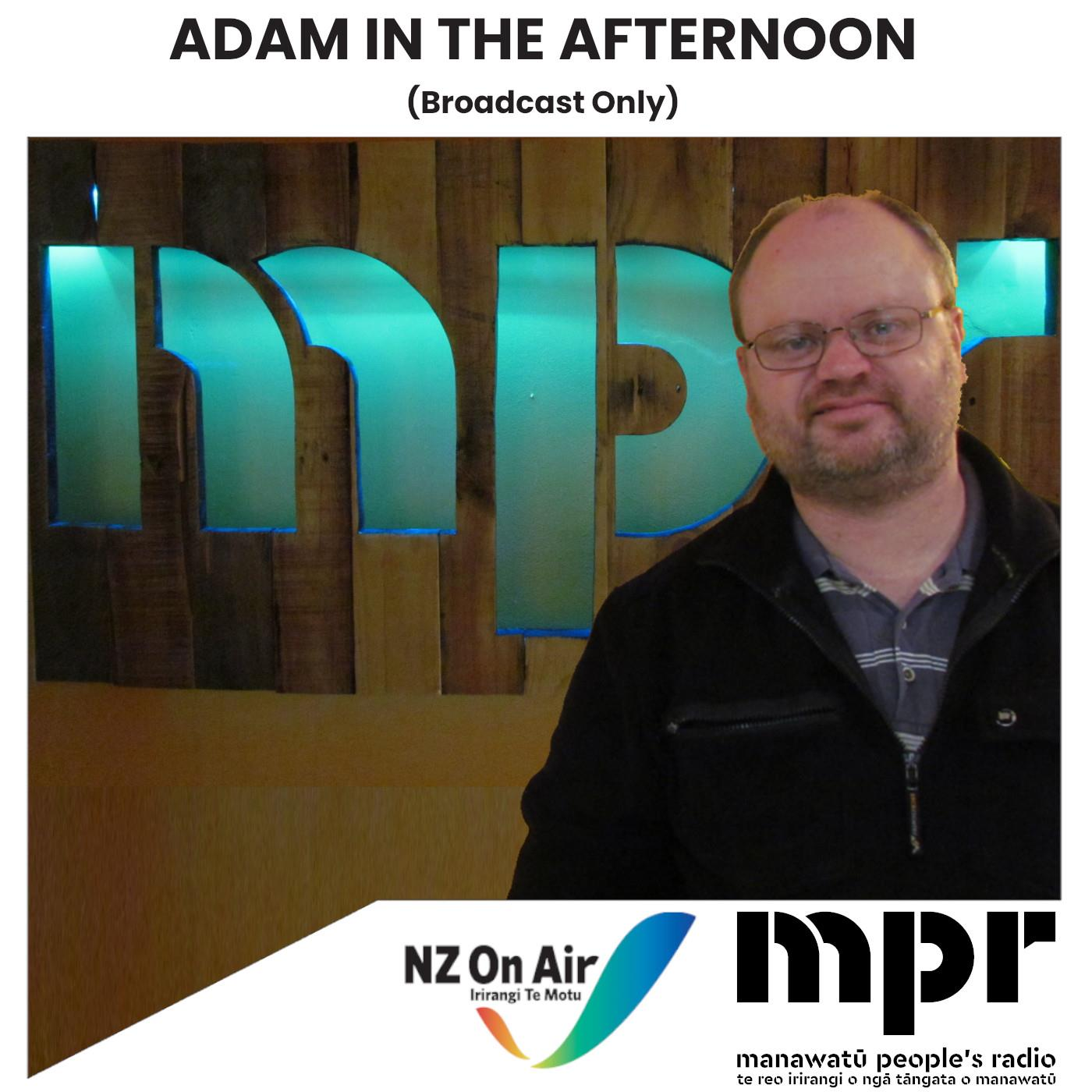 Adam In The Afternoon - Continuity (Broadcast Only)