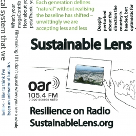 Sustainable Lens - Resilience On Radio - 22-08-2019 - Lucy Pei