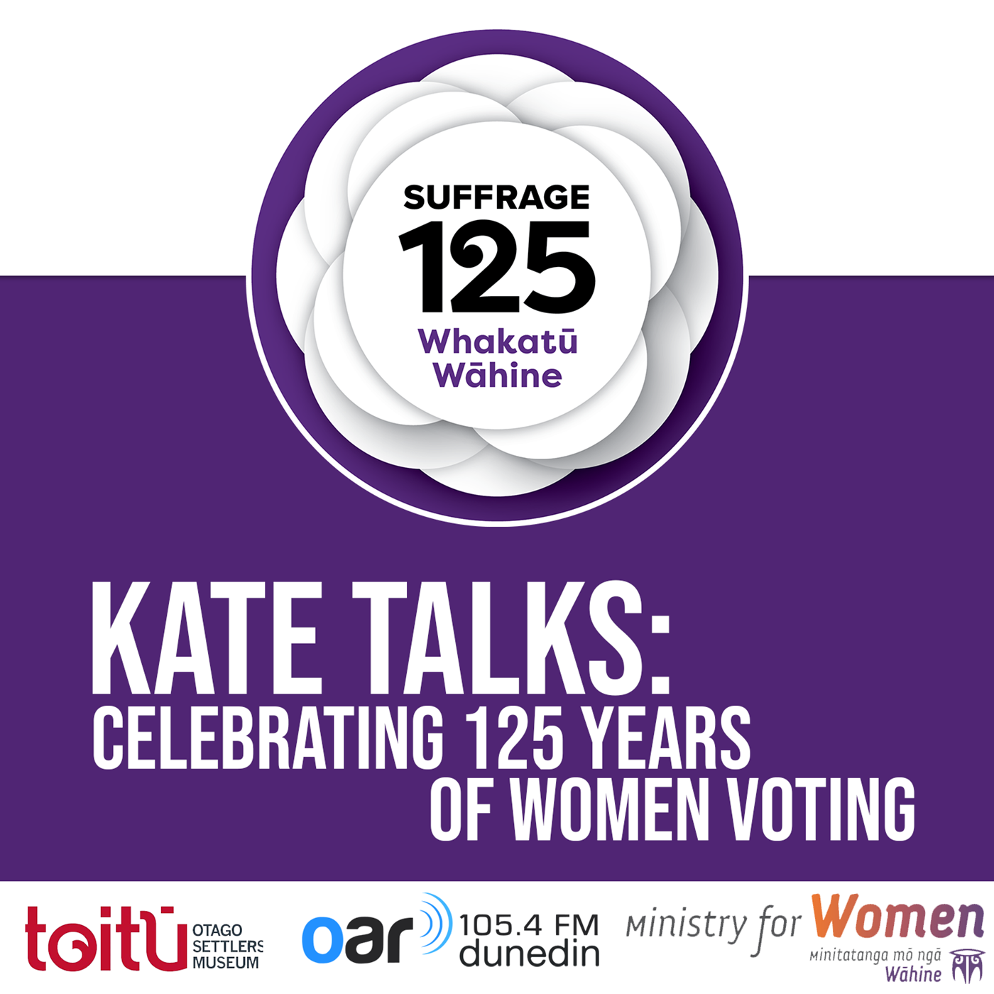 Kate Talks: Celebrating 125 Years of Women Voting
