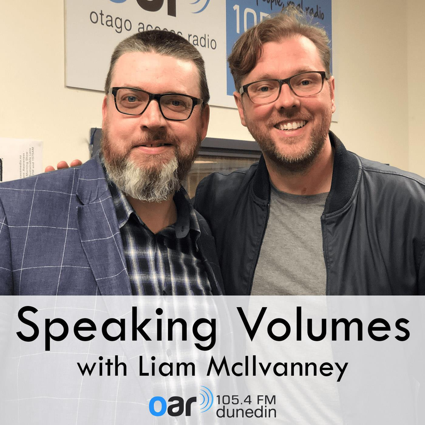 Speaking Volumes with Liam McIlvanney