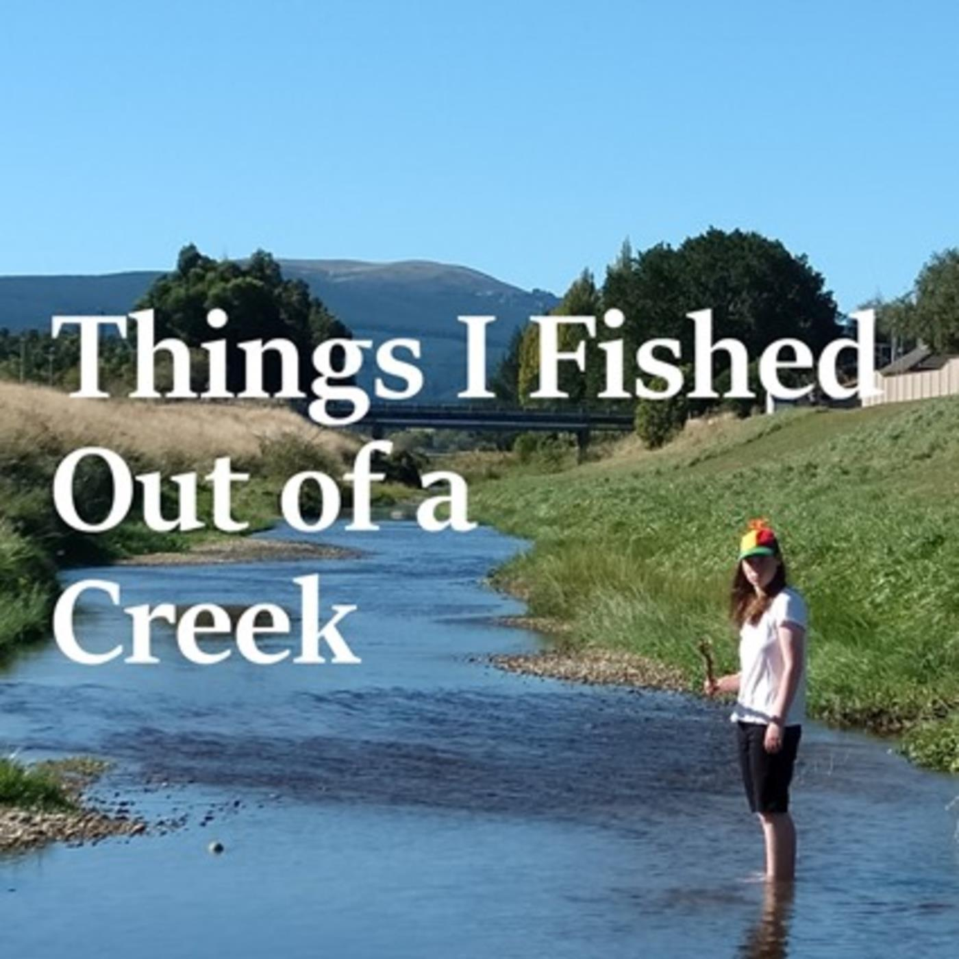 Things I Fished out of a Creek on Youth Zone