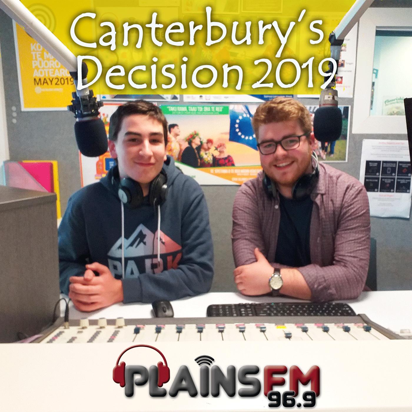 Canterbury's Decision 2019