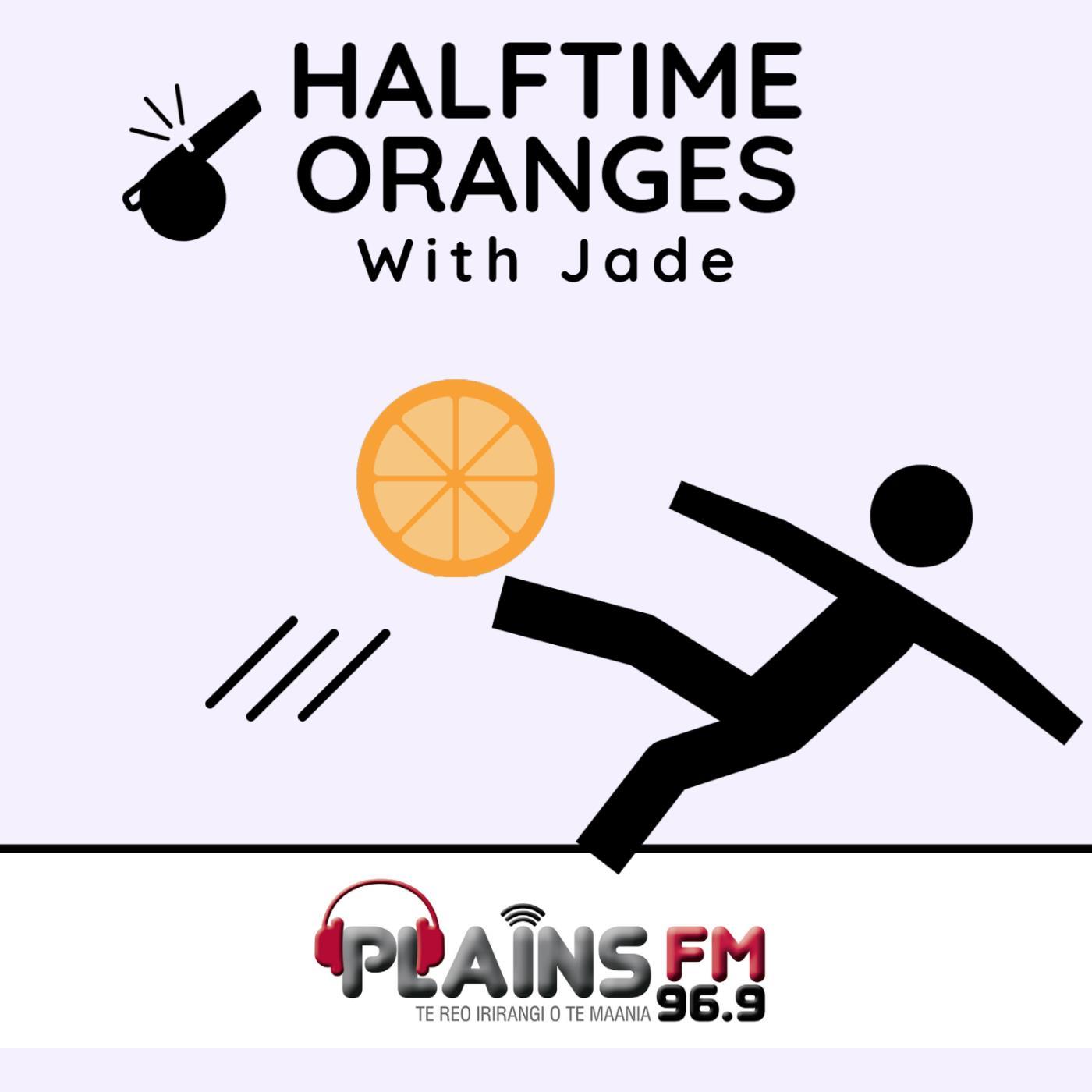 Half Time Oranges With Jade