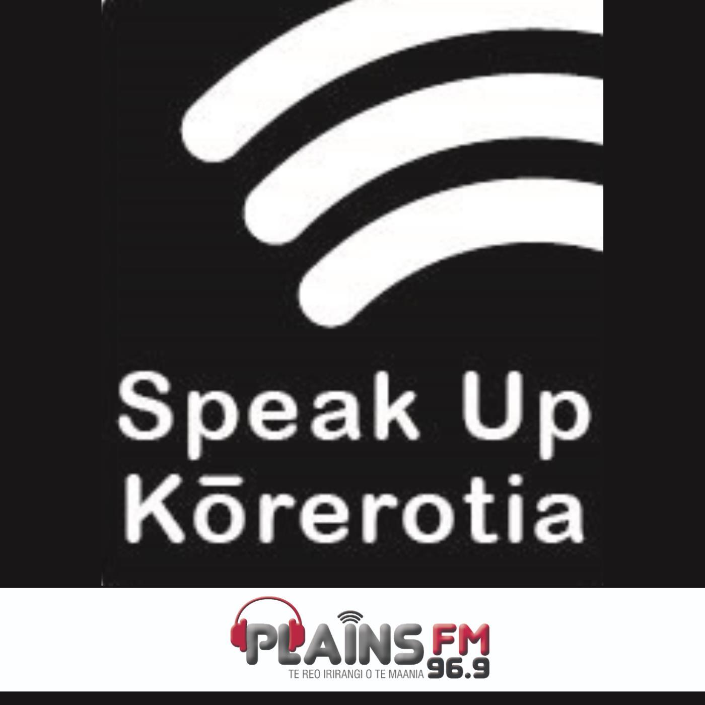 Speak Up  Kōrerotia